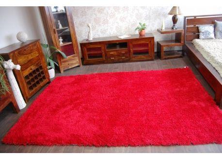 Dywan SHAGGY HOLLAND czerwień 60x90 cm