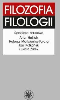 Filozofia filologii - Ebook.