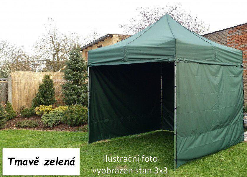 Ogrodowy namiot PROFI STEEL 3 x 6 - ciemny zielony