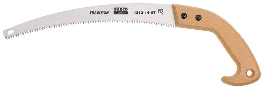 piła ręczna sadownicza do suchych i twardych gałęzi 360mm, zęby niehartowane 6/cal Bahco [4212-14-6T]