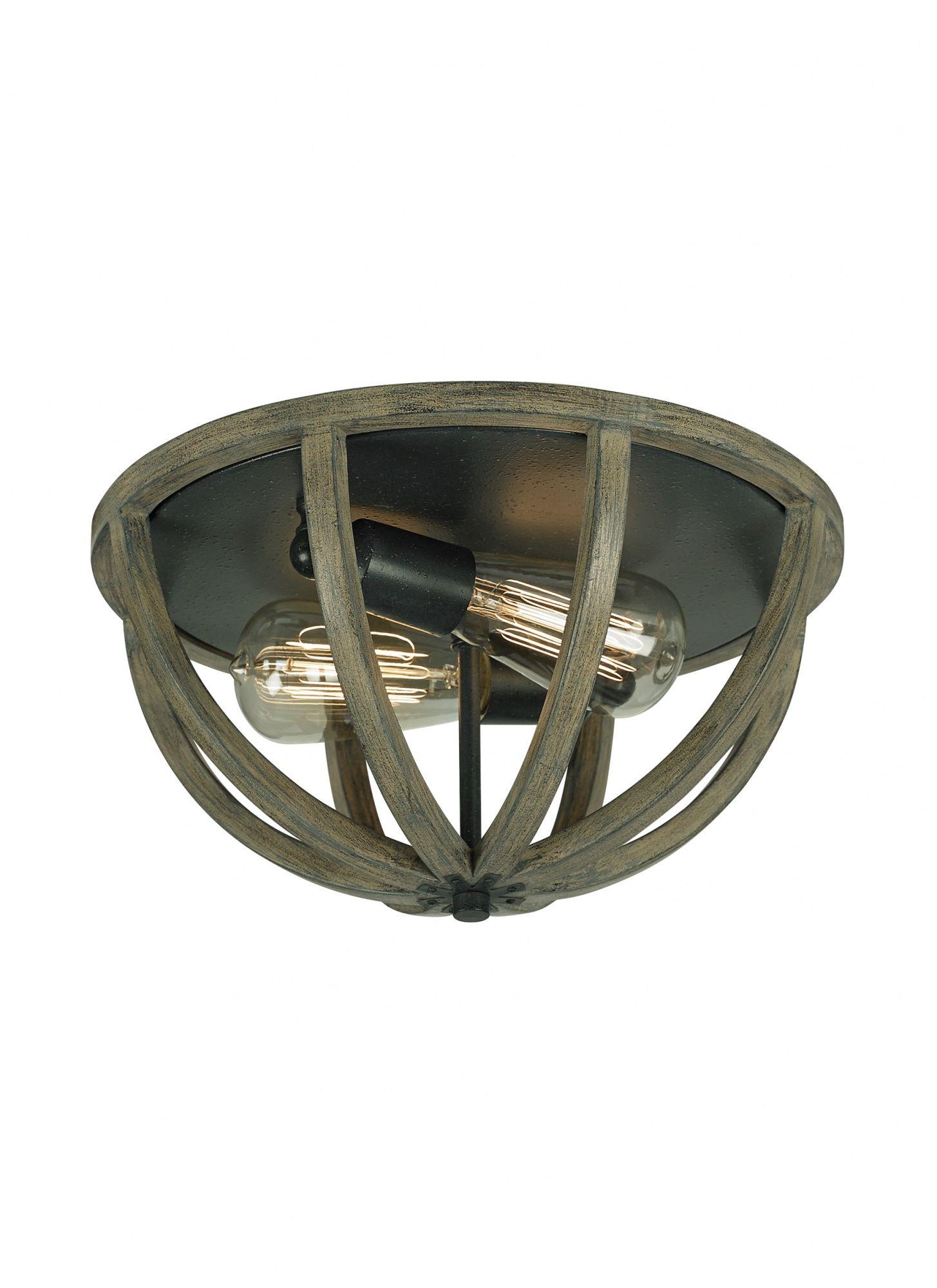 Lampa sufitowa Allier FE/ALLIER/F WW Feiss drewniana oprawa sufitowa w nowoczesnym stylu
