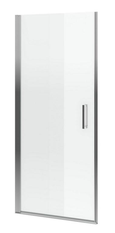 Excellent Mazo drzwi wnękowe wahadłowe 80 cm przejrzyste
