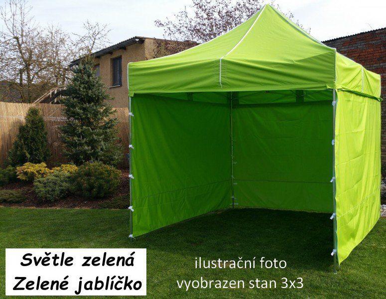 Ogrodowy namiot PROFI STEEL 3 x 6 - jasnozielony
