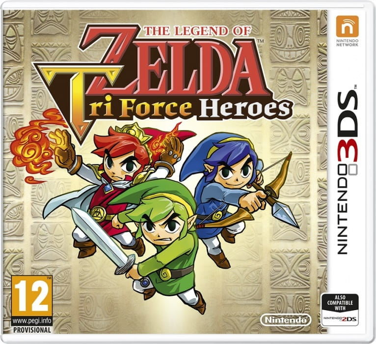 Gra The Legend of Zelda: Tri Force Heroes (Nintendo 3DS)