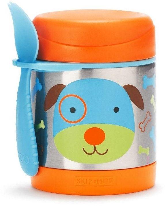 Termos dla dzieci Turkusowy Pies, 252378-Skip Hop, akcesoria dla dzieci