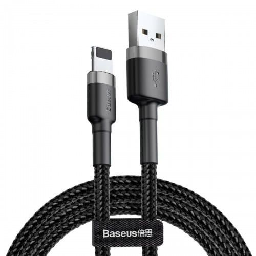 Kabel Baseus Cafule USB-A do Lightning 2m, szary