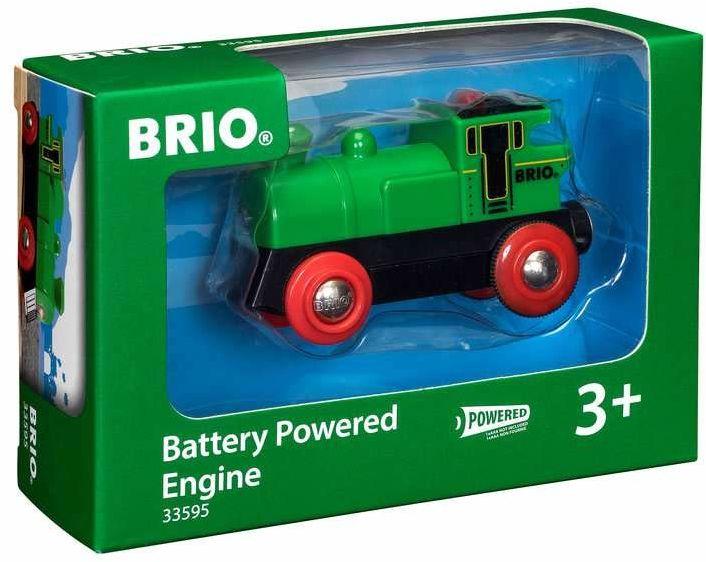 BRIO 63359500 Zielony Parowóz (63359500) Bezpieczna Zabawka Dla Dzieci Powyżej 3 Lat