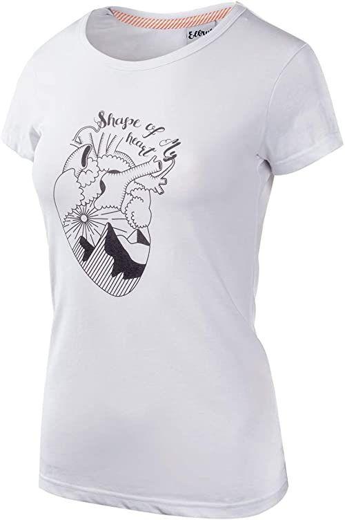Elbrus damski T-shirt Corazon Wo''s biały White/Micro Chip X-L
