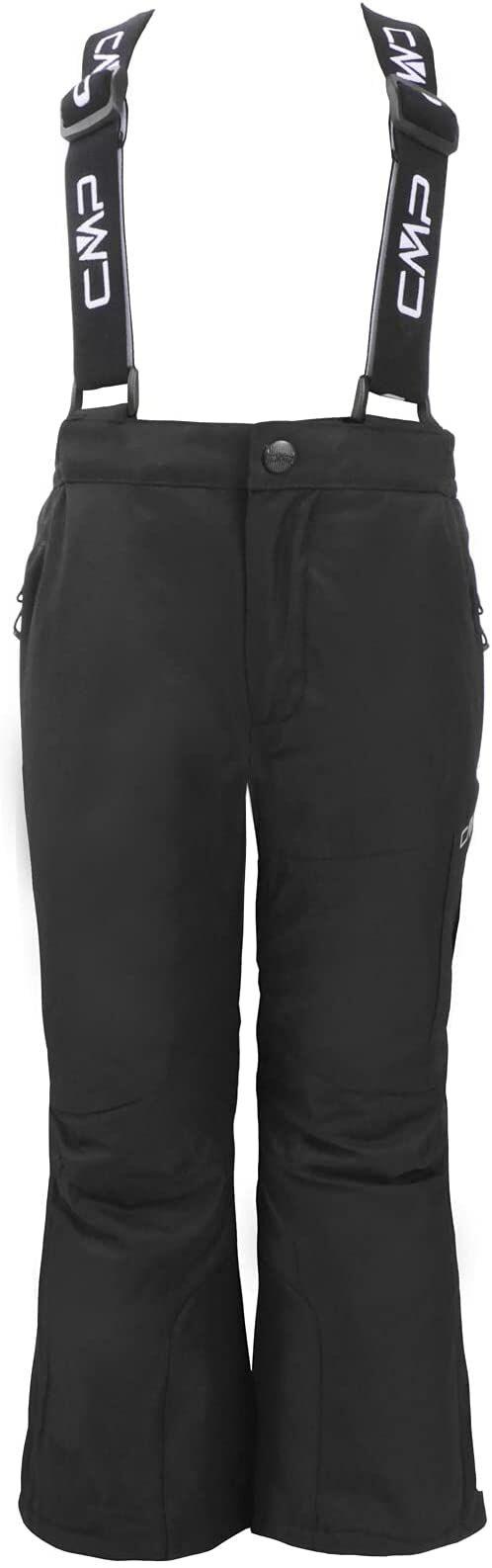 CMP Chłopięce spodnie narciarskie Cargo, Nero, 110