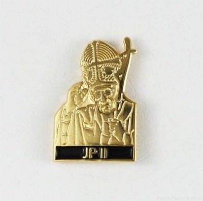 Jan Paweł II, przypinka