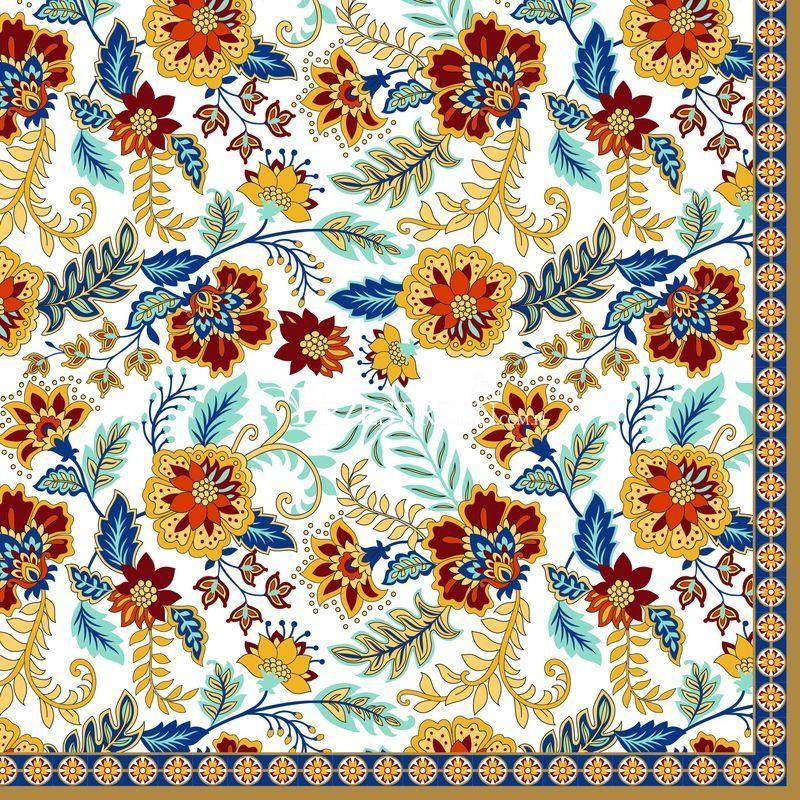 SERWETKI PAPIEROWE Kolorowe Kwiaty - 414 ABUN