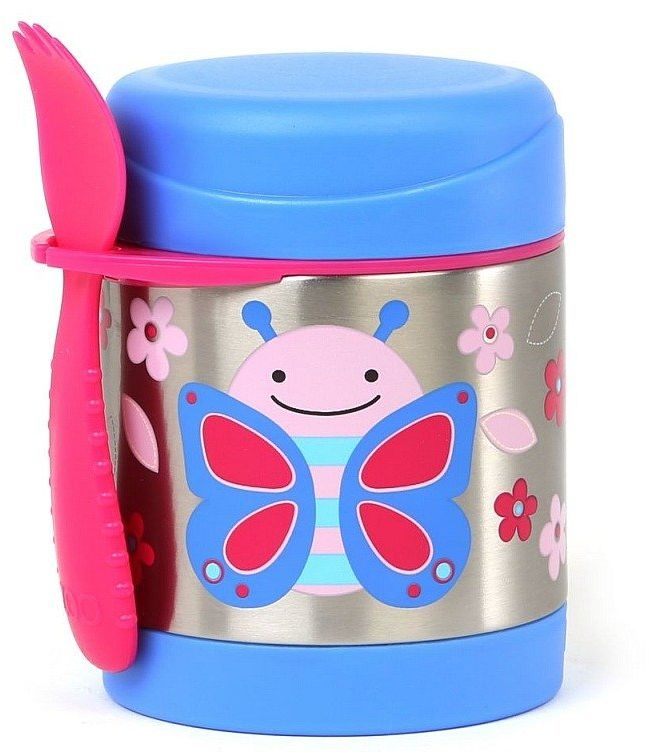 Termos dla dzieci Niebieski Motylek, 252381-Skip Hop, akcesoria dla dzieci