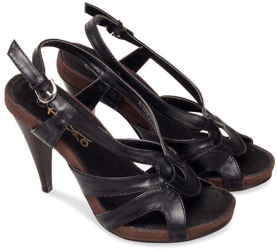 Sandałki damskie Fresko 9L1128-2B Czarne