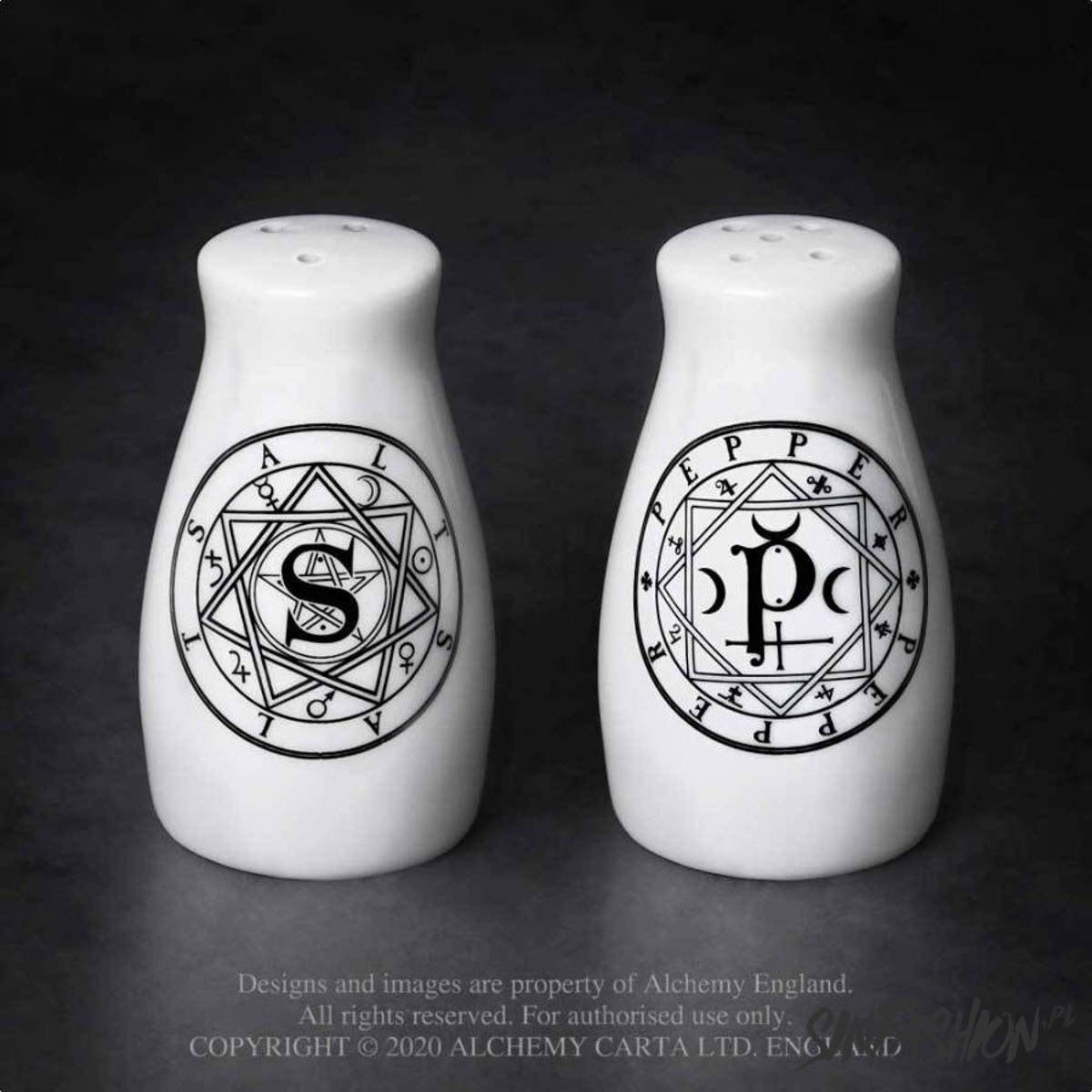 Solniczka i pieprzniczka alchemy england s & p