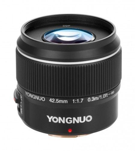 Obiektyw Yongnuo YN 42,5 mm f/1.7 Micro 4/3