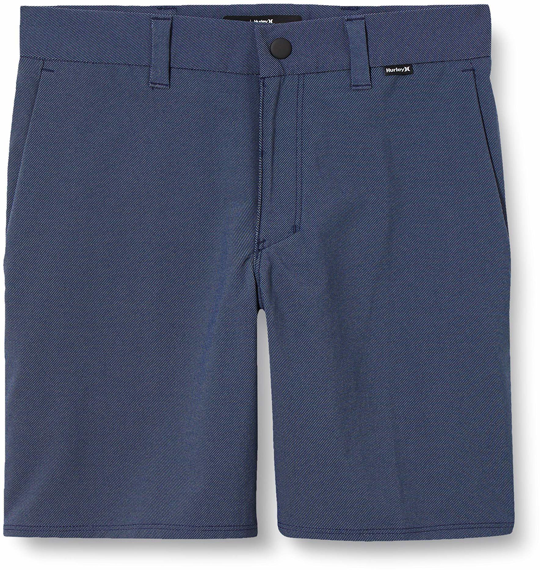 Hurley Chłopięce B Dri-fit krótkie krótkie spodnie typu chino 40 cm Obsydian 25