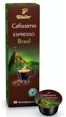 Kawa w kapsułkach TCHIBO CAFISSIMO CAFFEE ESPRESSO BRASIL 10 KAPSUŁEK. Kup taniej o 40 zł dołączając do Klubu