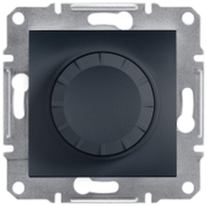 ASFORA Ściemniacz RC (łacznik schod.) bez ramki antracyt EPH6600171