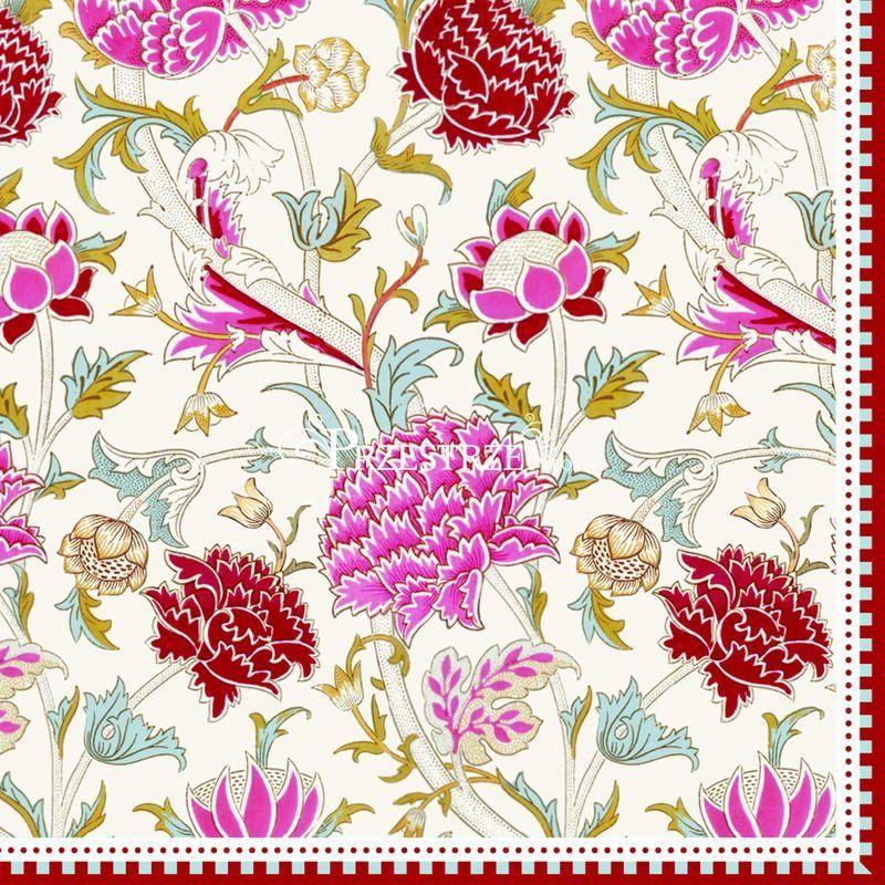 SERWETKI PAPIEROWE Kwiaty William Morris - 414 WILP