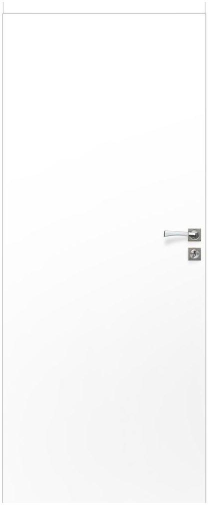 Skrzydło drzwiowe pełne bezprzylgowe Basic Białe 70 Voster