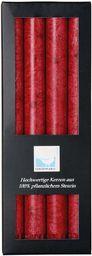 Kerzerman Świece bryłowe, cylindryczne, czerwone, 1