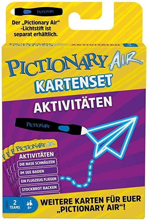 Pictionary Air Extension Pack Activities