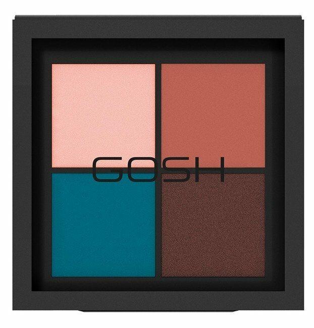 GOSH Eye Xpression Paleta 4 cieni do powiek 004 The Four Elements 10g