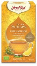 Herbatka dla zmysłów SZCZĘŚCIE BIO (20x2,2g) 44g Yogi Tea