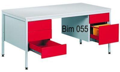 Biurko do pokoju lekarza BIM 055 z szufladami