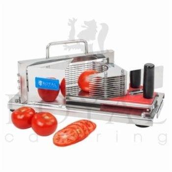 Krajalnica do pomidorów - 10 ostrzy - plastry 5,5 mm - Royal Catering - RCTC-5 - 3 lata gwarancji/wysyłka w 24h