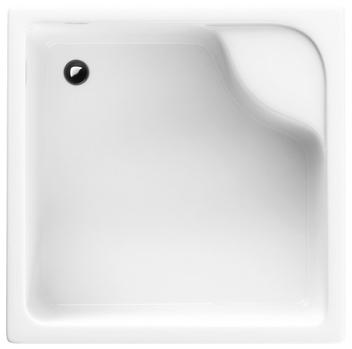 Schedpol Brodzik kwadratowy z siedziskiem Doris 80x80x28cm 3.232