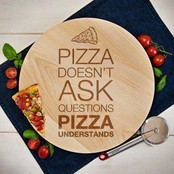 Pizza doesn t ask - Deska obrotowa