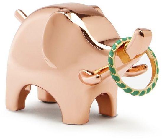 Umbra - stojak na biżuterię anigram słoń - miedziany - miedziany