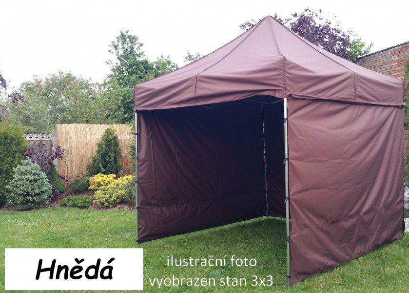 Namiot ogrodowy PROFI STEEL 3 x 6 brązowy