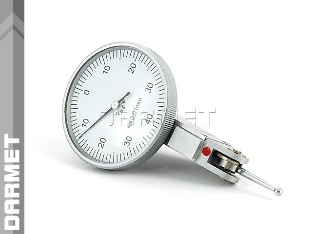 Czujnik diatest dźwigniowy Pulpitas uchylny zegarowy poziomy - 0,8MM (560-011)