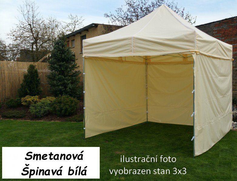 Ogrodowy namiot PROFI STEEL 3 x 6 - kremowy