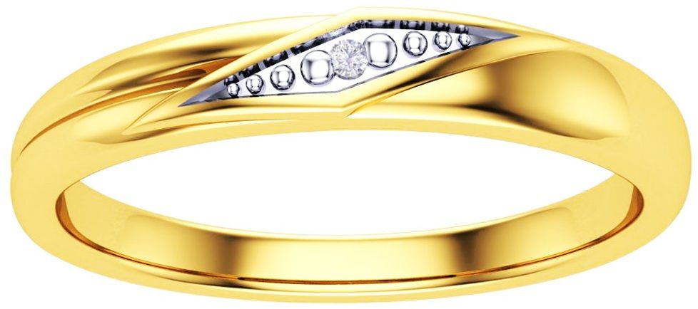 Złoty Pierścionek 375 z Brylantem