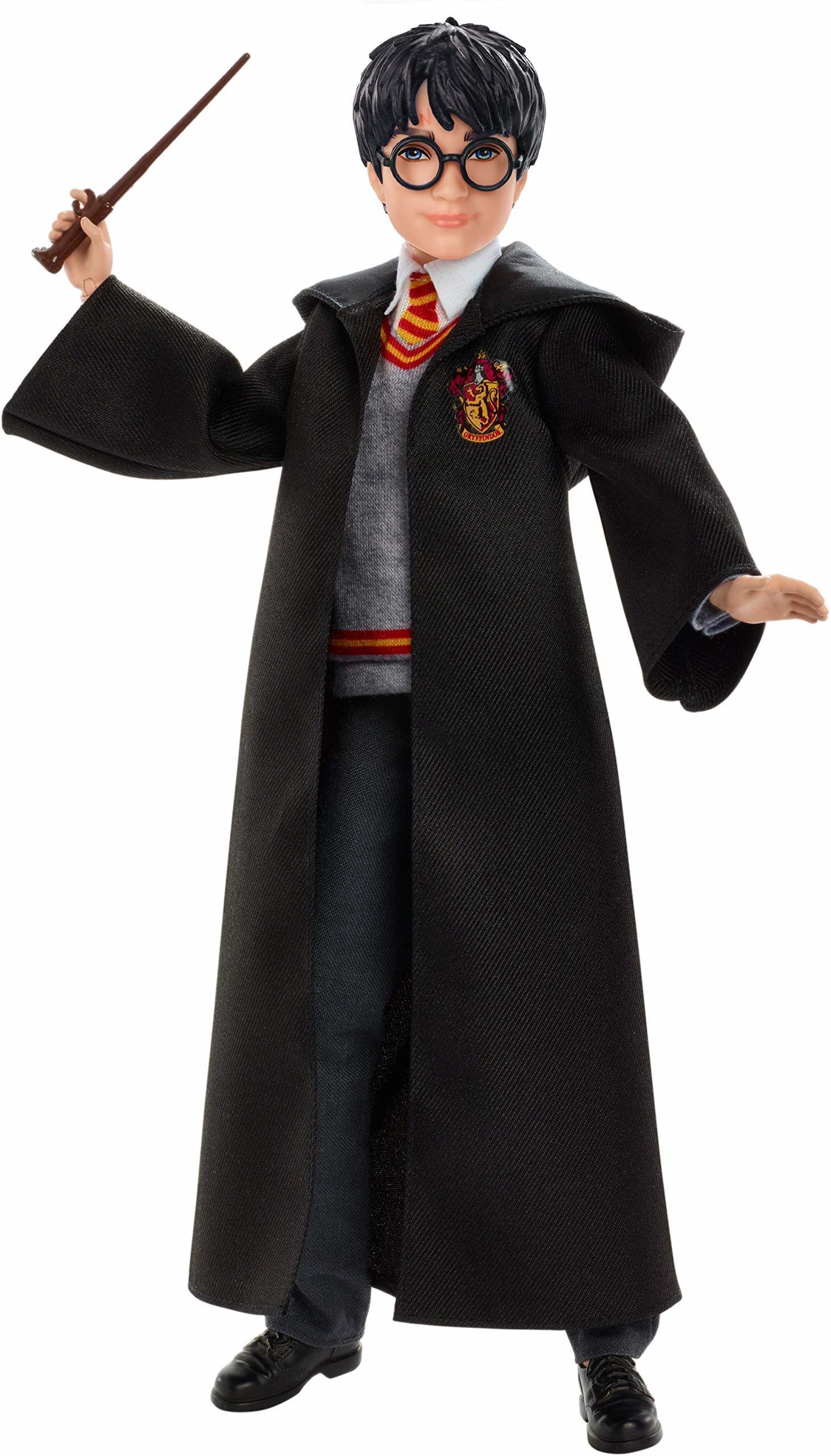 Harry Potter, Harry Potter Lalka Kolekcjonerska (Wysokość: 26 Cm) Z Mundurkiem Hogwartu, Szatą Gryffindoru I Różdżką FYM50