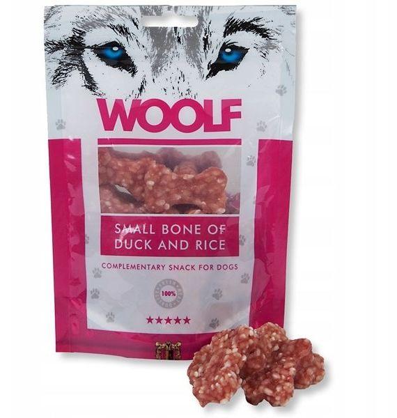 WOOLF - Przysmak bone of duck/rice 100g