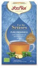 Herbatka dla zmysłów ŚWIEŻOŚĆ BIO (20x2,0g) 40g Yogi Tea