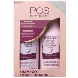 Inoar Pos Progress zestaw po keratynowym prostowaniu włosów 2x250ml