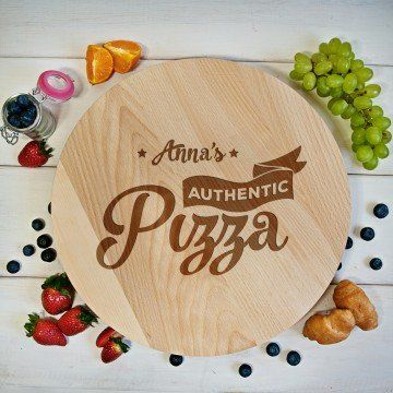 Authentic Pizza - Deska obrotowa
