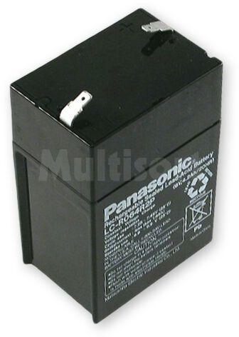 Akumulator kwasowo-ołowiowy PANASONIC 6V 4,5Ah żywotność 6-9 lat