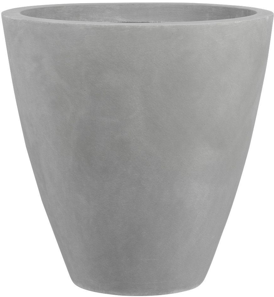 Donica z włókna szklanego D280C szary beton