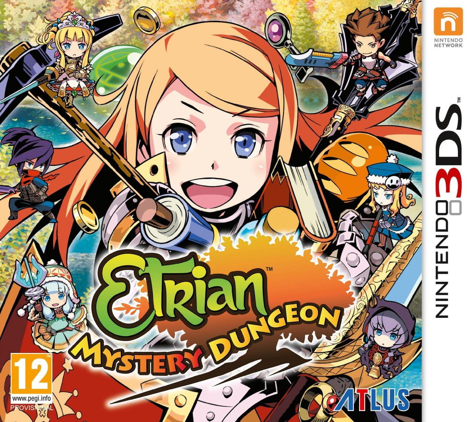 Gra Etrian Mystery Dungeon (Nintendo 3DS)