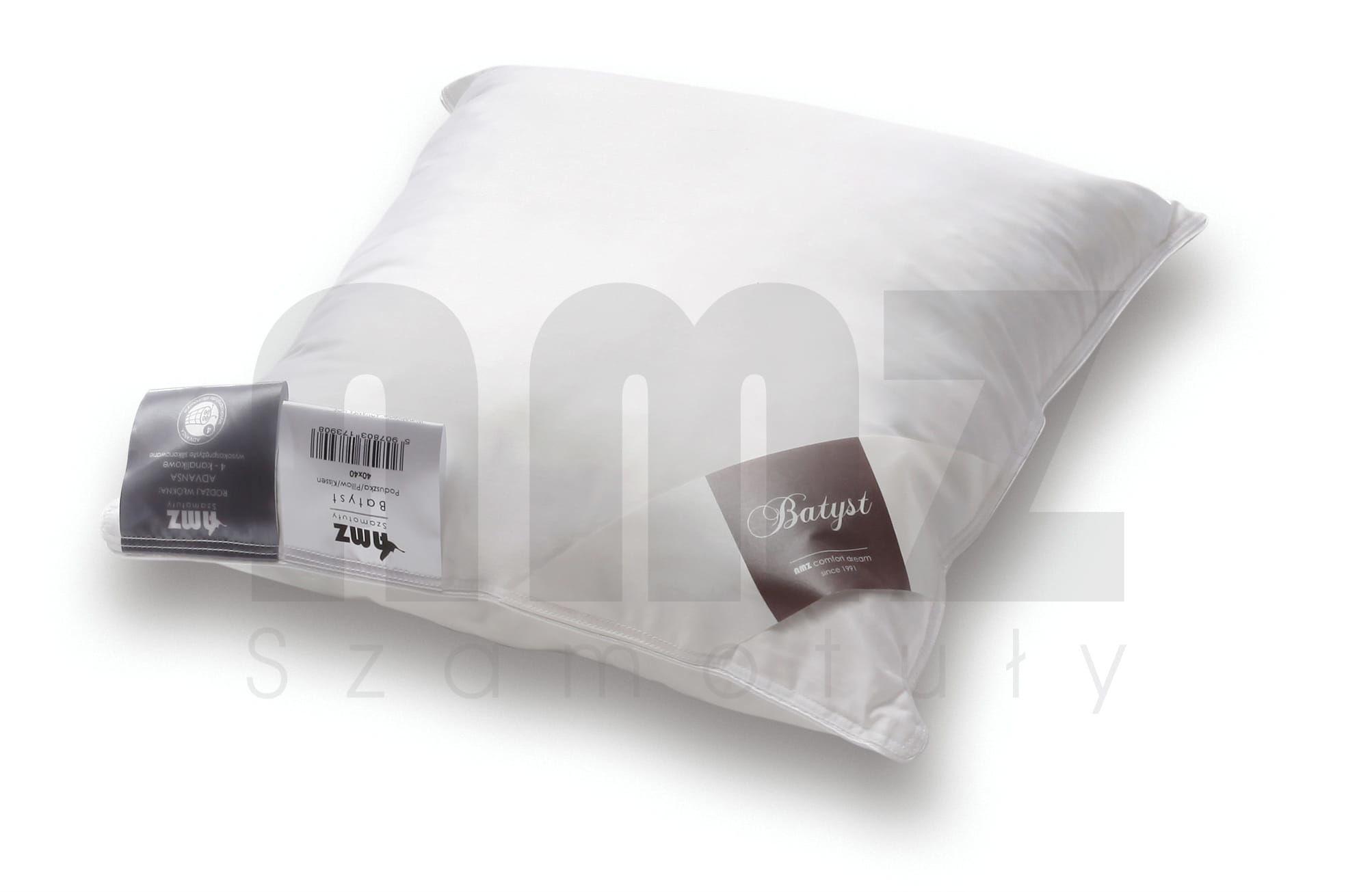Poduszka Antyalergiczna 50x60 AMZ Batyst Gładka