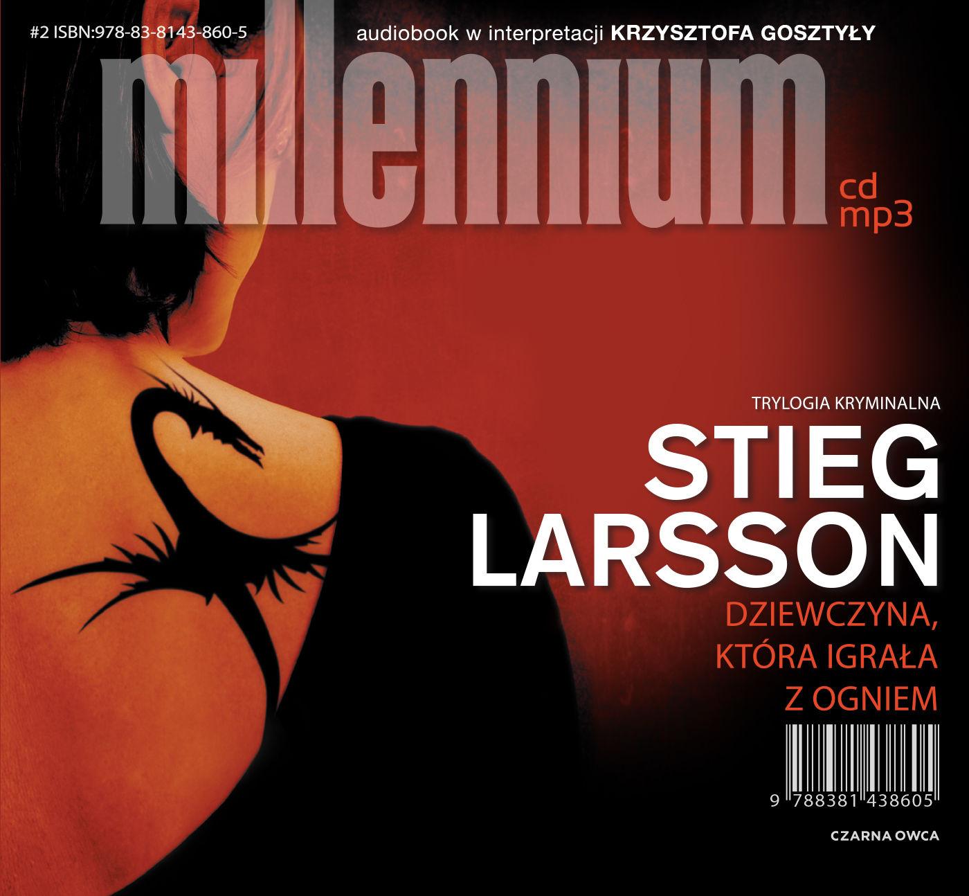 Dziewczyna, która igrała z ogniem - Stieg Larsson - audiobook