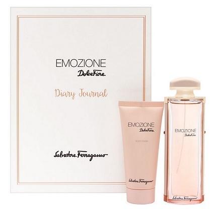 Salvatore Ferragamo Emozione balsam do ciała 100ml + woda perfumowana - 92ml Do każdego zamówienia upominek gratis.