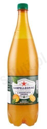 San Pellegrino Aranciata amara - Gazowany napój z gorzkich pomarańczy (1,25 L)