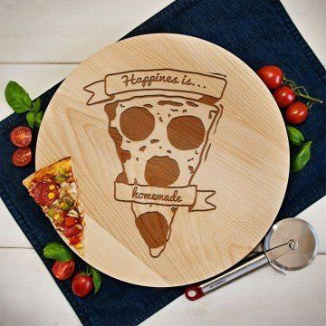 Happines is homemade - Deska obrotowa